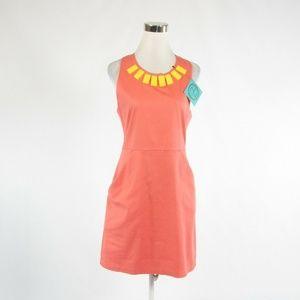 Tracy Negoshian salmon pink dress L NWT